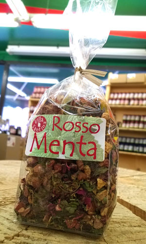 Infuso Rosso Menta 60g